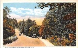 Mile Point Geneva, New York Postcard