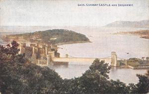 uk2717 conwy castle  and deganwy wales  uk