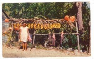Little Fruit Vendor , Jamaica , PU-1958