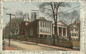 Staunton VA Mary Baldwin Seminary 1906 Used Postcard