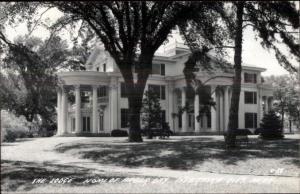 Nebraska City NE Lodge Home of Arbor Day Real Photo Postcard