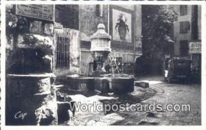 Vence, France, Carte, Postcard La Fontaine du Peyra Vence La Fontaine du Peyra
