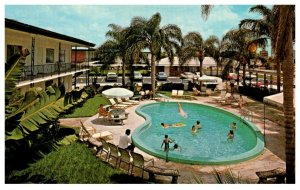 Florida  St. Petersburg , Quality Inn , Poolside