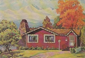 Apple Tree Folks Dinner House Restaurant Denver Colorado 1965