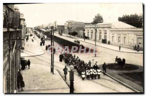 Modern Postcard Argentina procession