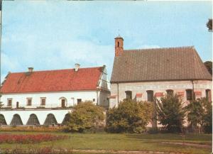 Poland, Wielun, Muzeum Ziemi Wielunskiej, used Postcard
