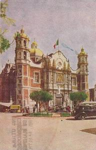 The Basilica of Guadalupe, Mexico City, PU-1949