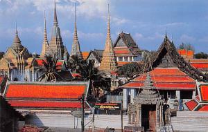 Bangkok Thailand Bird's Eye View of Wat Pho Bangkok Bird's Eye View of Wat Pho