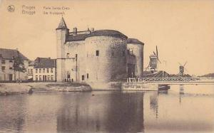Windmills, Porte Sainte Croix, Bruges, Belgium, 1900-1910s