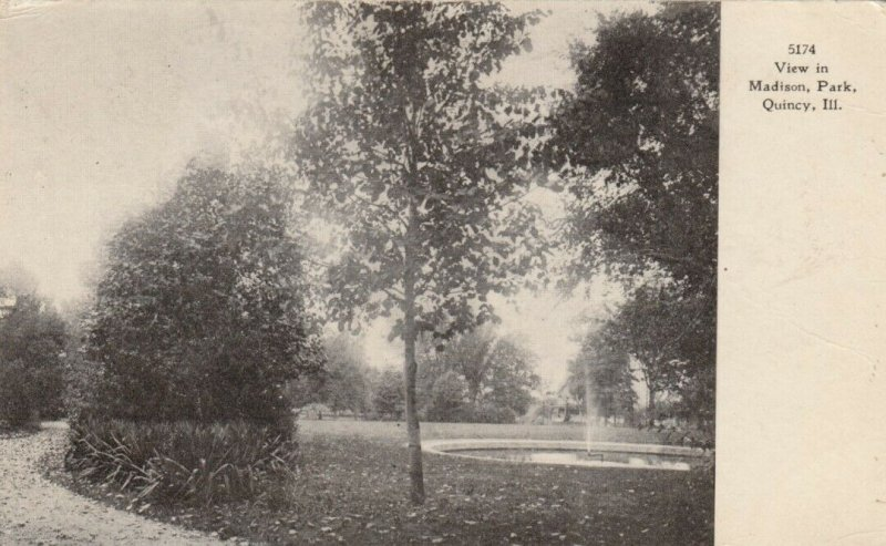 QUINCY , Illinois, 1910 ; Madison Park