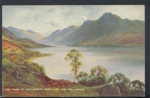 Scotland Postcard - The Banks of Loch Lomond Above Luss & Ben Lomond RS16672