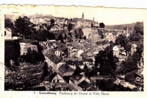 Faubourg du grund et Ville Haute, Luxembourg,PU