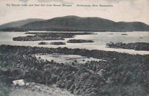 New Hampshire Big Squam Lake And Red Hill From Mount Morgan Albertype