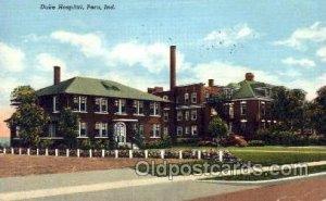 Duke Hospital Peru, IN, USA 1946
