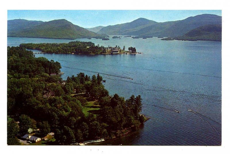 NY - Lake George. Aerial View Near Bolton Landing