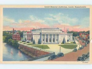 Linen AUDITORIUM SCENE Lowell Massachusetts MA G2901