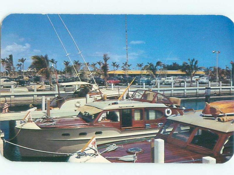 Pre-1980 BOAT SCENE Fort Lauderdale Florida FL AF4245