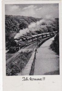 RP: Ich komme, Locomotive Train on the move, PU-1938