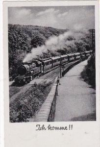 RP: Ich komme, Locomotive Train on the move, PU-1938