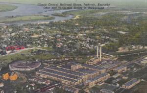 Illinois Central Railroad Shops, PADUCAH, Kentucky, 1930-1940s