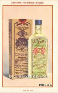 Advertising Postcard - Old Vintage Antique  Sirop Famel