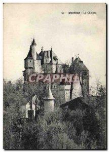 Old Postcard Chateau Menthon