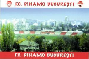 romania, BUCHAREST, Stadionul Dinamo București (1990s) Stadium Postcard