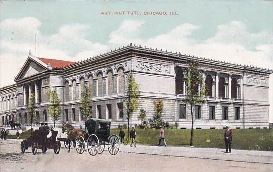 Illinois Chicago Art Institute 1908