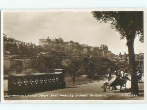 old rppc NICE VIEW Edinburgh Scotland UK i2167