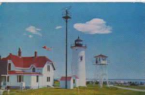 Massachusetts Cape Cod Chatham Ligthouse 1954