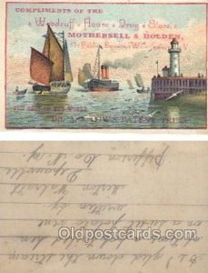 Woodruff House Drug Store, Watertown NY, USA Trade Card Approx Size Inches = ...