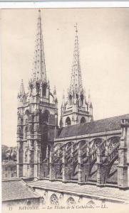 France Bayonne Les Fleches de la Cathedrale