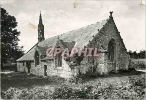 Modern Postcard Pont Aven Finistere Tremalo The wood chapel of Love