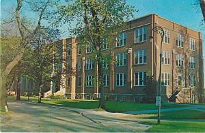 Liberal Arts Building Marycrest College Davenport Iowa IA Chrome
