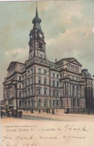 LOUISVILLE, Kentucky, PU-1907; Custom House