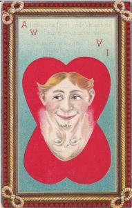 VALENTINE'S DAY : Faces , PU-1910