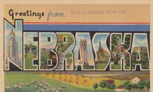 Large Letter NEBRASKA, 30-40s