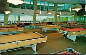 DeKalb~Northern Illinois University~Huskies Den~Bowling Alley~Billiards Tables