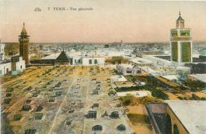 Tunis Tunisia Tunisie general view