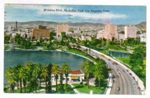 Long Beach, California to Milwaukee, Wisconsin 1955, McArthur Park, Los Angeles