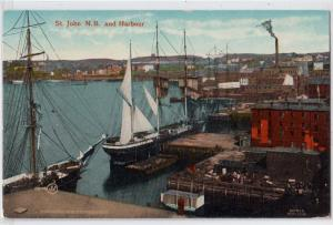 Harbour, Saint John NB