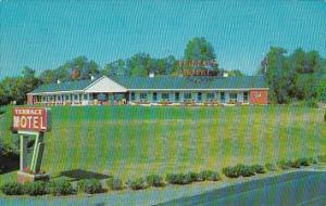 Terrace Motel Bedford Pennsylvania 1960