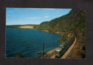 ON Canadian Pacific Railroad train Railway Lake Superior Ontario Carte Postale