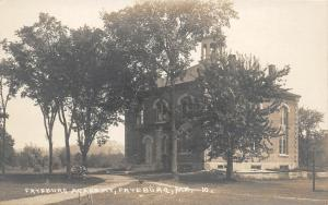 F21/ Fryesburg Maine RPPC Postcard c1920s Academy School Building