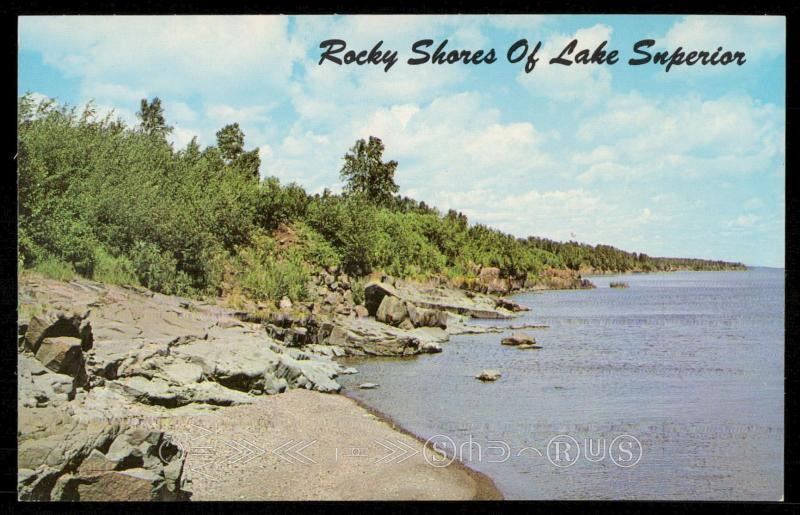 Rocky Shores of Lake Superior