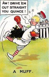 A Muff Baseball Unused