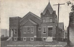 E79/ Warwood West Virginia Postcard Stoops c1910 Presbyterian Church 7