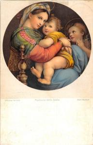 Dresdner Gallerie Madonna della Sedia Nach Raphael 1906