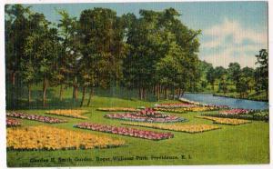 Charles H Smith Garden, Providence RI