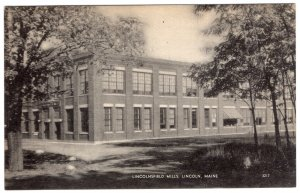Lincoln, Maine, Lincolnsfield Mills